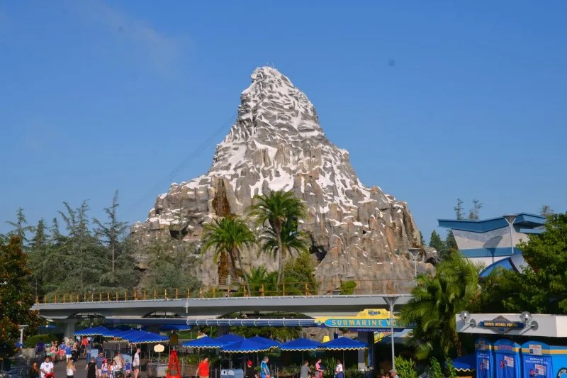 Disney Attractions Around the World - Disneyland Matterhorn