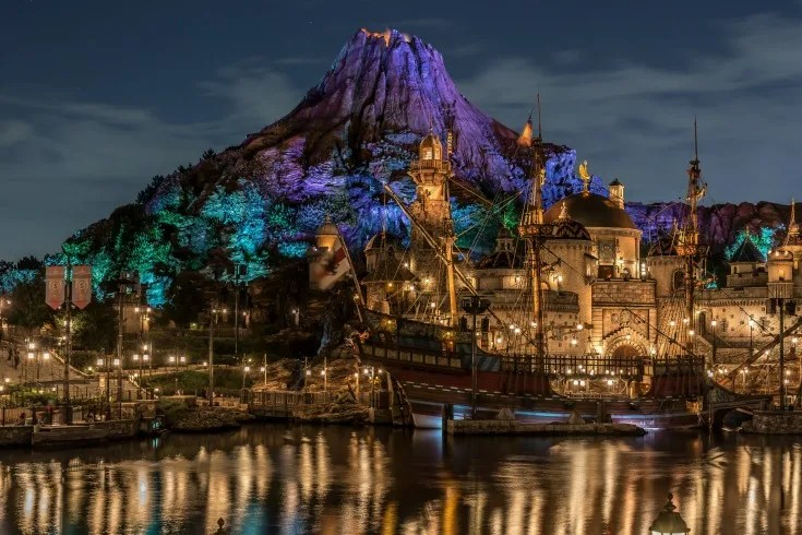 Disney Attractions Around the World - Tokyo DisneySea - Journey to the Center of the Earth