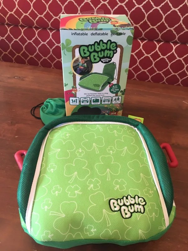 BubbleBum Review - Booster and Carrying Case