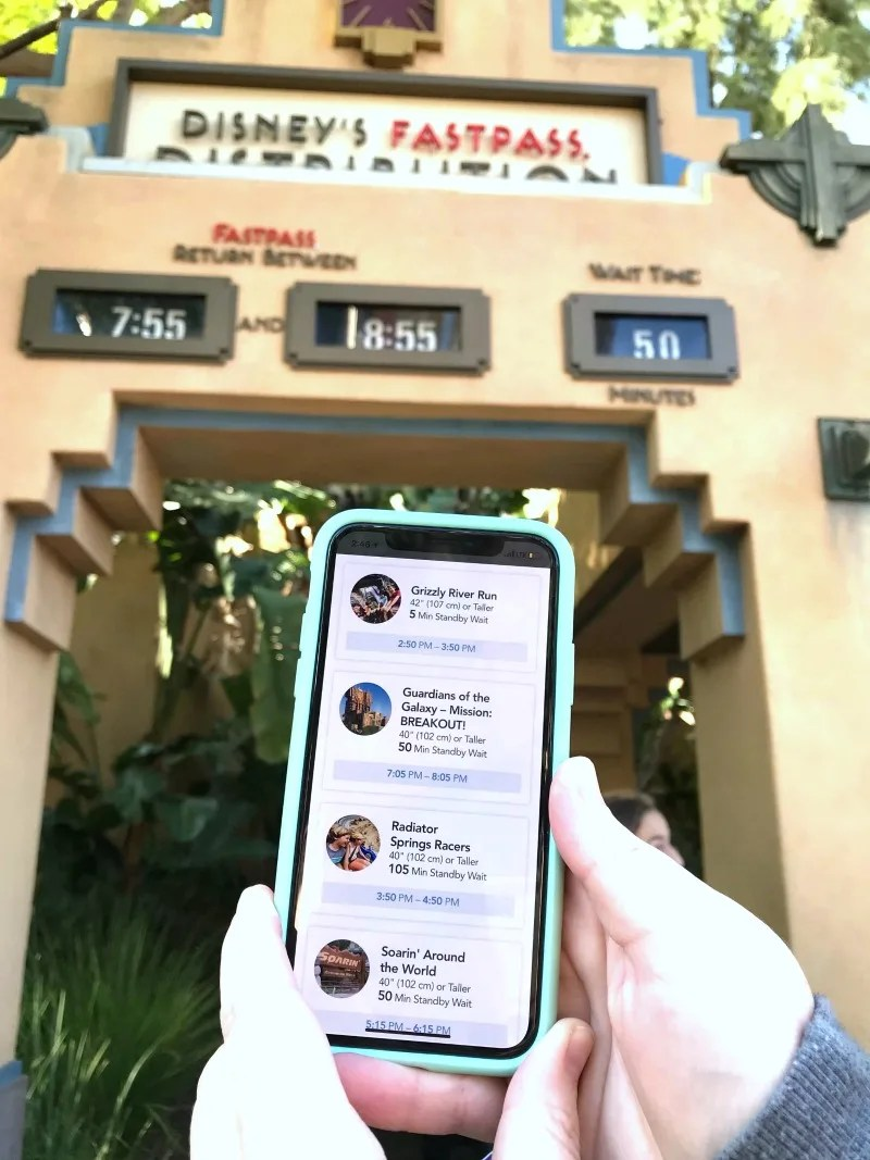 Disneyland MaxPass - Superior Return times with Maxpass