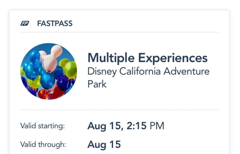 Disneyland MaxPass - Multiple Experiences Fastpass