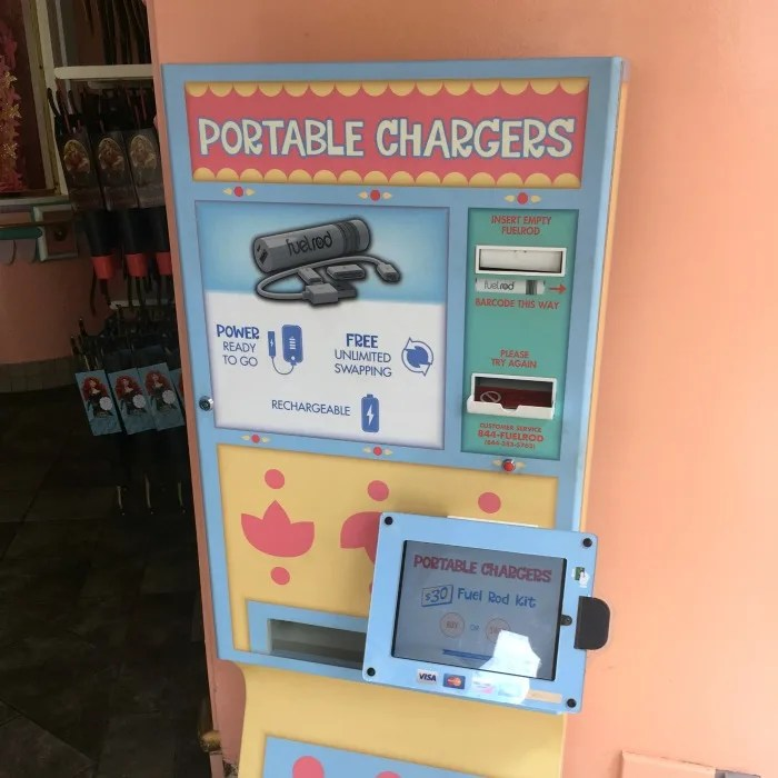 Disneyland Maxpass - Fuel Rod Chargers