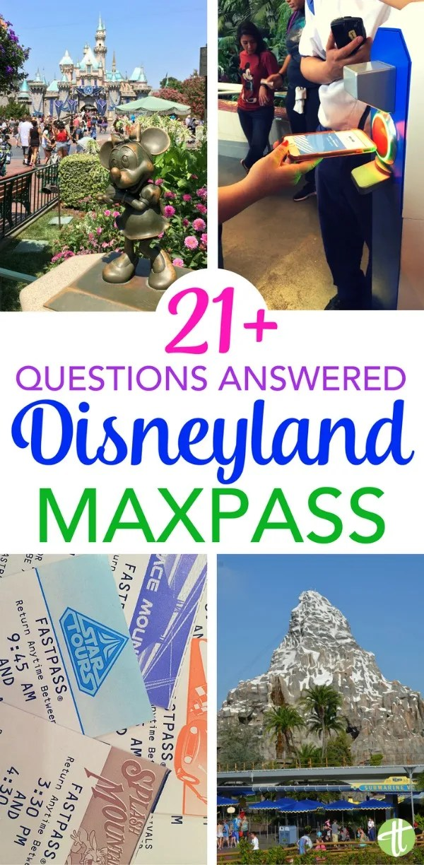 Got questions about Disneyland MaxPass? We've got answers! How to make the most of the new digital Fastpass service on your next visit to Disneyland or California Adventure in Anaheim, California.