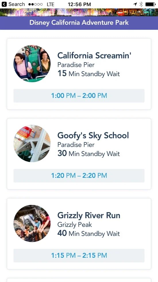 Disneyland Maxpass - Quick Turnaround Times