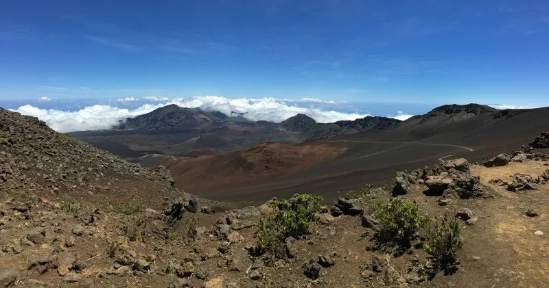 Things to do in Maui with Kids - Haleakala National Park Sliding Sands Trail