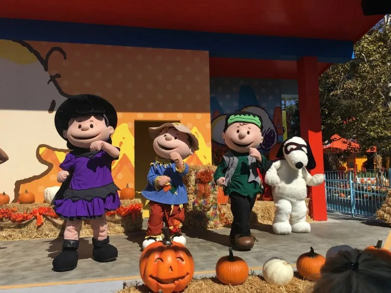 Great Pumpkin Fest Californias Great America - Peanuts Spooktacular