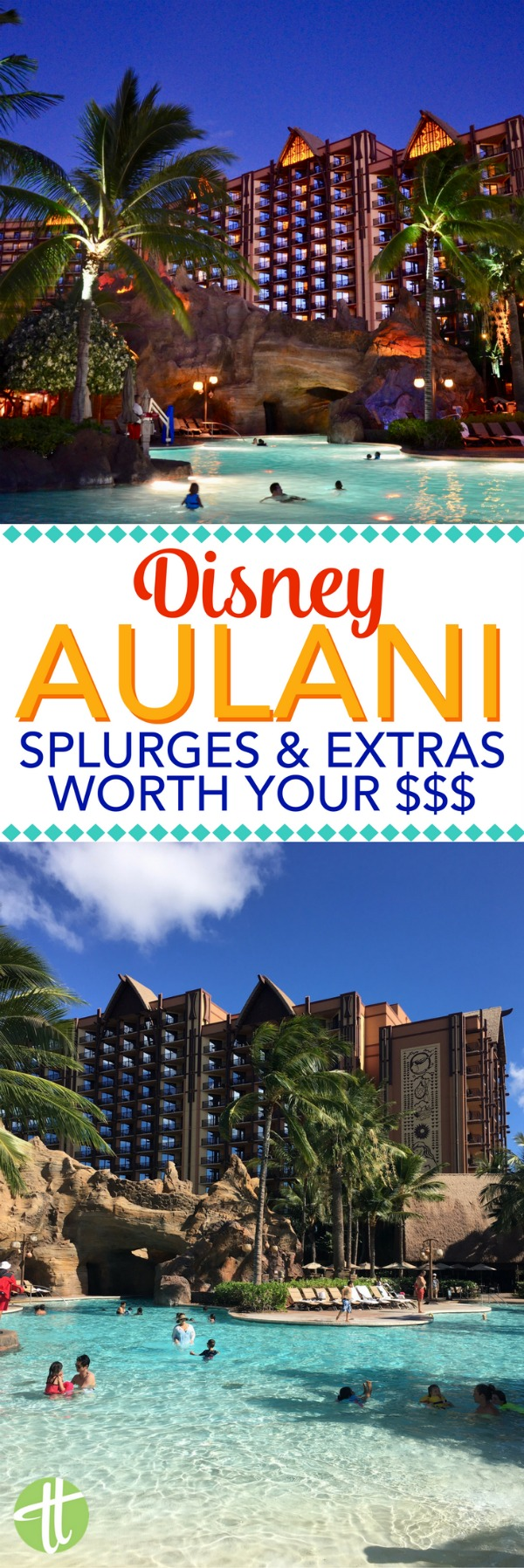 Planning a vacation to Aulani, a Disney Resort & Spa, in O'ahu Hawaii? Find out what splurge activities, and dining are worth fitting into your vacation budget. A look at the luau, character meals, room upgrades, spa, excursions, and more.