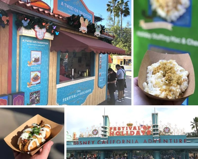 Disneyland Holidays - California Adventure Festival of Holidays Food Marketplaces