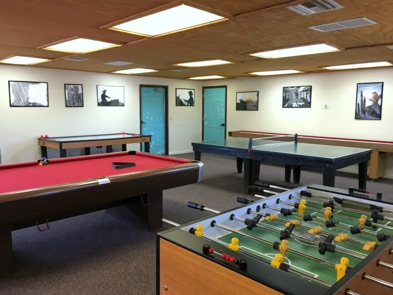 Dude Ranch with Kids - White Stallion Ranch Game Room