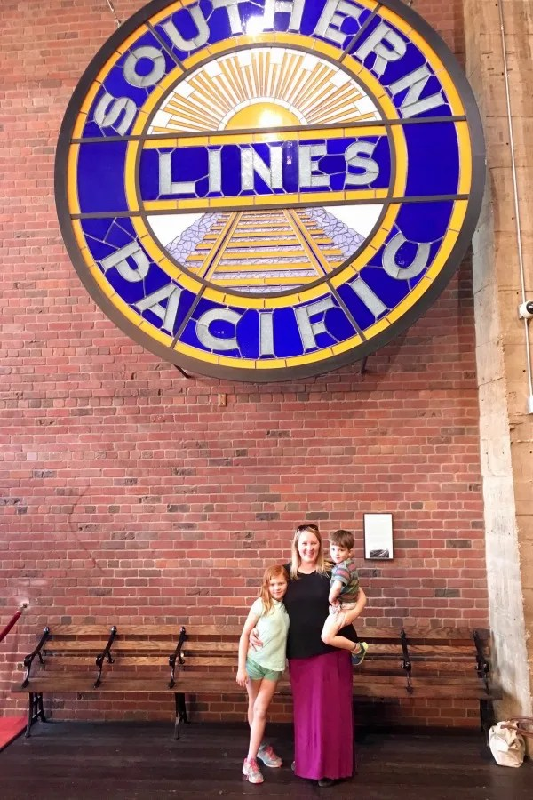 Old Sacramento - California State Railroad Museum with Kids