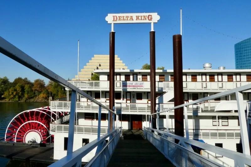 Old Sacramento Restaurants - Delta King Pilothouse Brunch