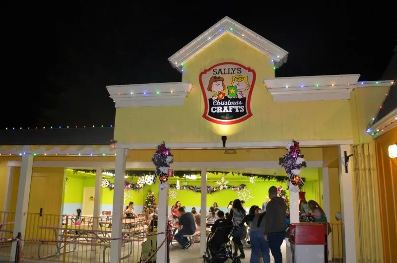WinterFest at Great America - Sallys Christmas Crafts