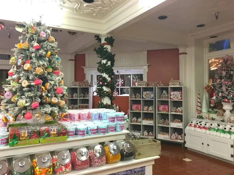 Winterfest at Great America - Candy Cane Cafe Sweet Shop