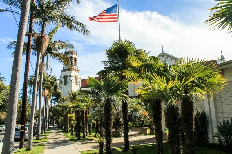 Winter Destinations in California - Santa Barbara