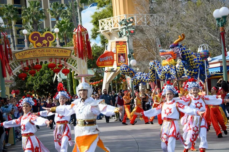 Disneyland Lunar New Year Parade