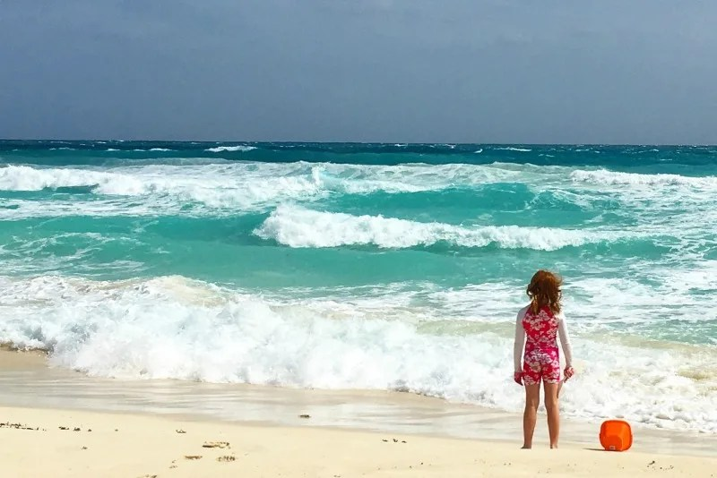 Warm Weather Getaways in Winter for Families - Cancun Mexico