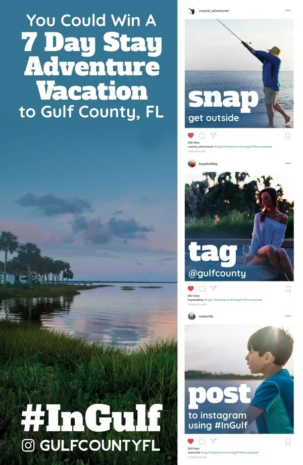 Gulf County Florida #InGulf Instagram Contest