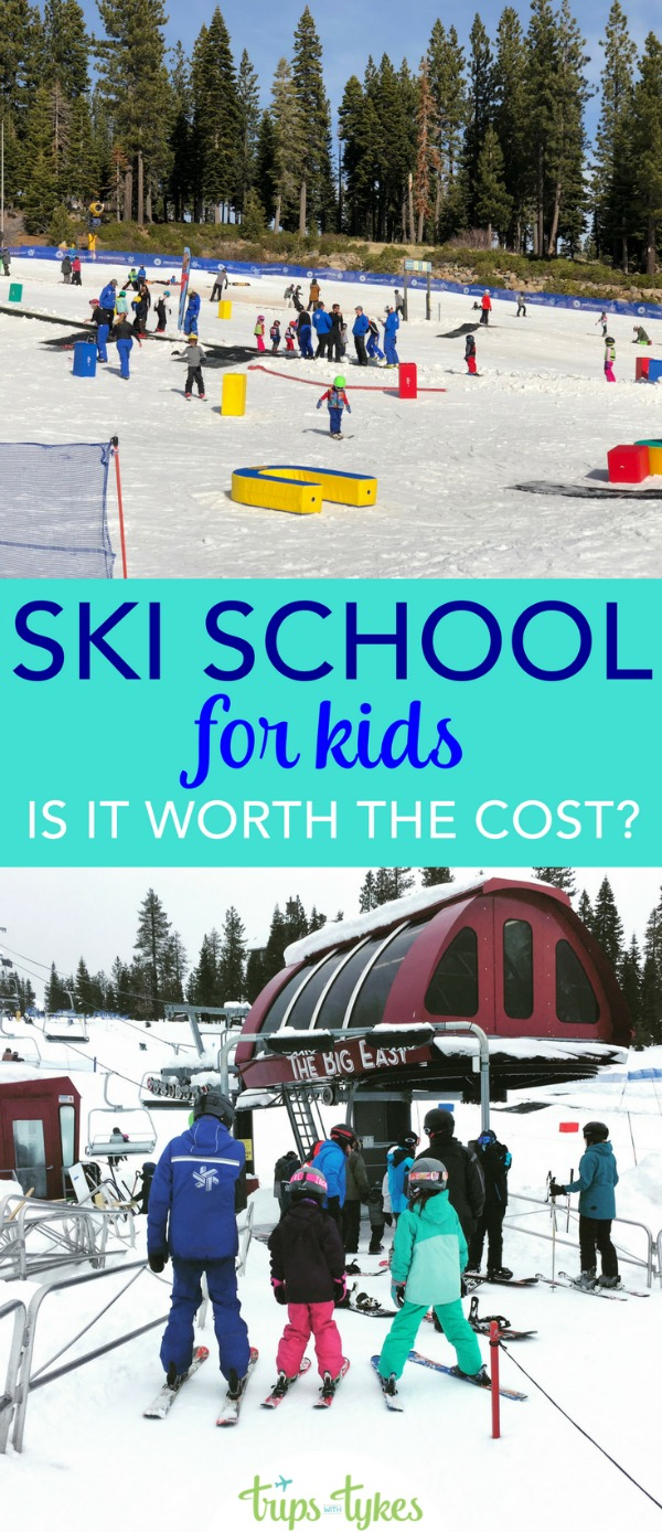 Taking a family ski vacation and wondering whether to put your kids in ski school? Find out why ski school is worth the cost with tips from veteran skiing parents and ski instructors.