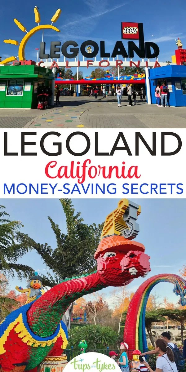 Headed to Legoland California on a budget? Check out these top money-saving secrets and tips first! Hotel options, food, coupons, discounts, and more to make the most of your theme park visit in Carlsbad. #legoland #legolandcalifornia #carlsbad #budgettravel