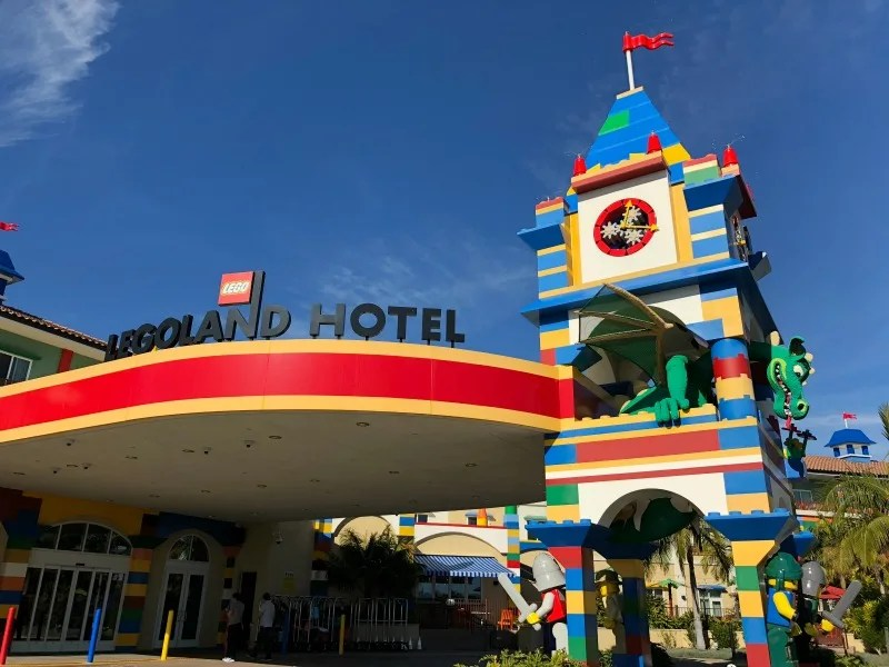 Legoland California on a Budget - Legoland Hotel