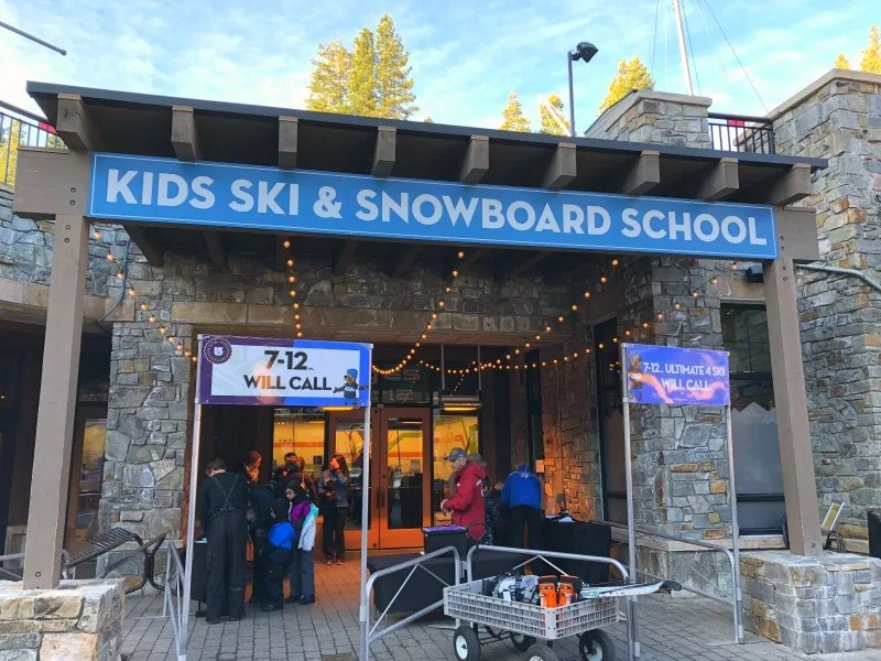Why Ski School is Worth it for Kids - Northstar California Ski School Dropoff