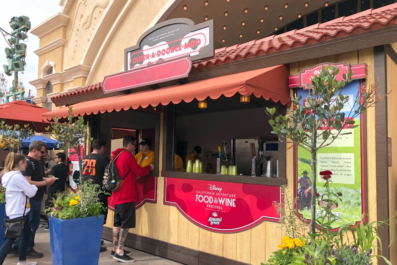 Disneyland Food and Wine Festival - Cluck-a-doodle-Moo Festival Marketplace