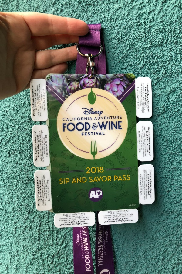 Disneyland Food and Wine Festival Tips - Annual Passport Sip and Savor Pass