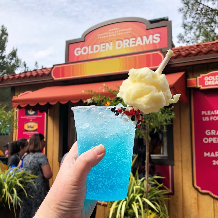 Disneyland Food and Wine - Mickeys Cotton Candy Soda