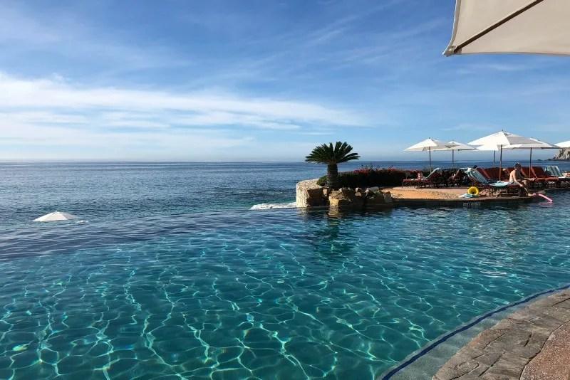 Southwest Inaugural Flight to Cabo - Infinity Pool Sheraton Hacienda del Mar