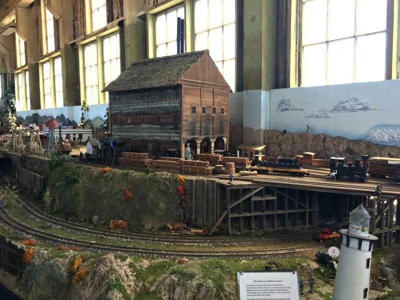 Mendocino County California with Kids -Mendocino Coast Model Railroad