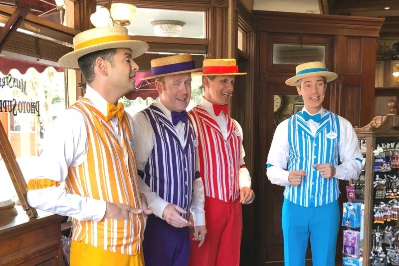Pixar Fest at Disneyland - Dapper Dans