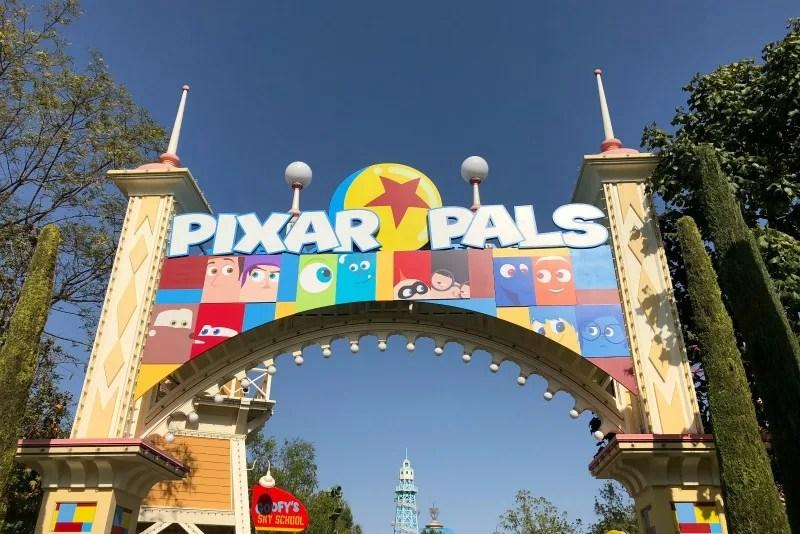 Pixar Fest at Disneyland - Paradise Gardens in DCA