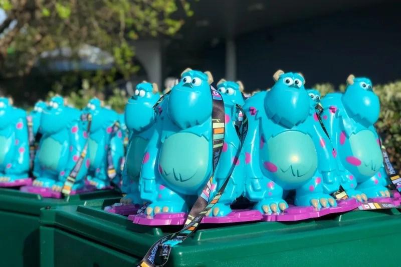 Pixar Fest at Disneyland - Sully Popcorn Buckets