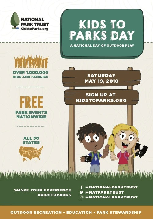 Kids to Parks Day Infographic