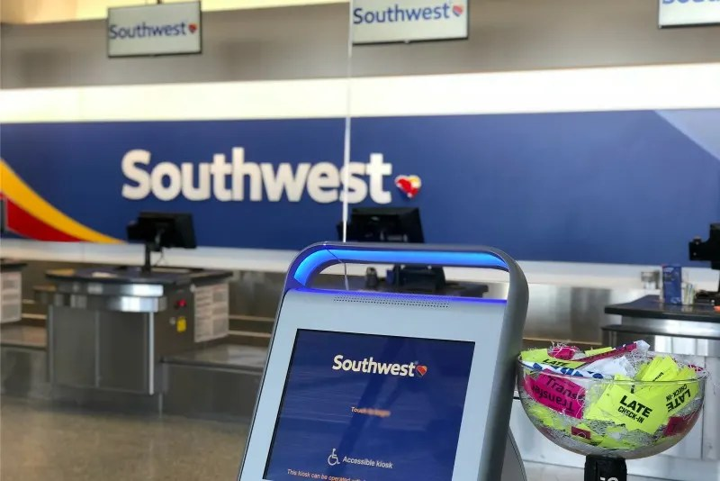 Southwest Airlines OAK Kiosk