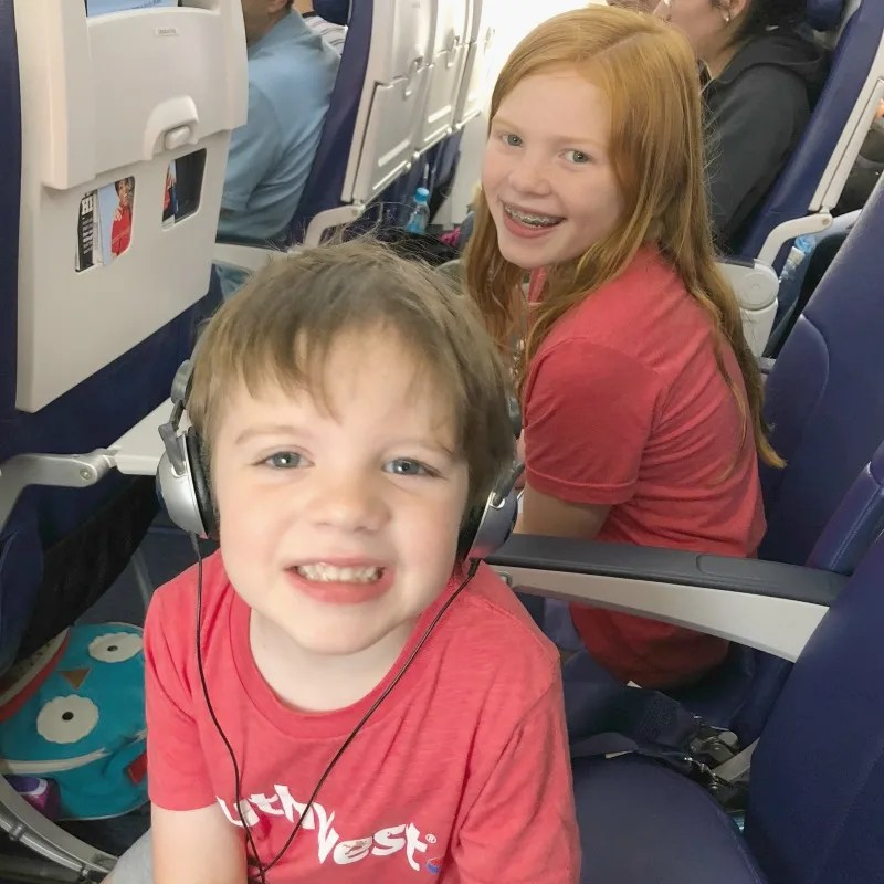 Travel with Food Allergies - Kids on Plane
