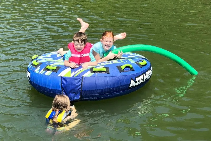 Cabarrus County NC with Kids - Lake Norman Tubing
