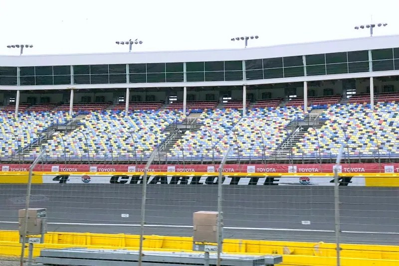 Cabarrus County North Carolina with Kids - Charlotte Motor Speedway Track