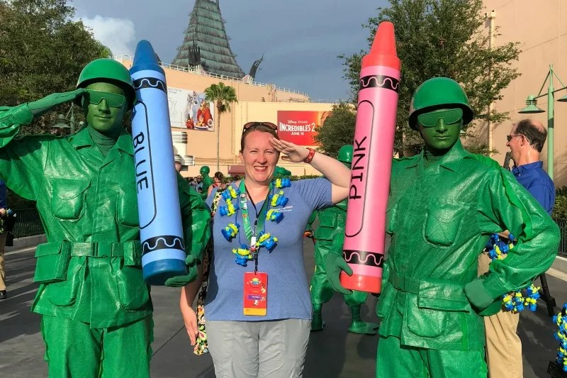 Toy Story Land Green Army Men Character Meet and Greet