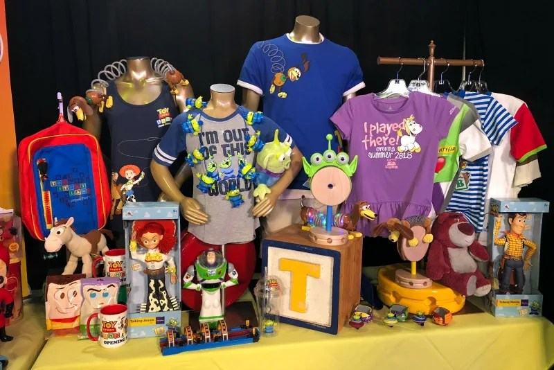 Toy Story Land Merchandise at Disney World