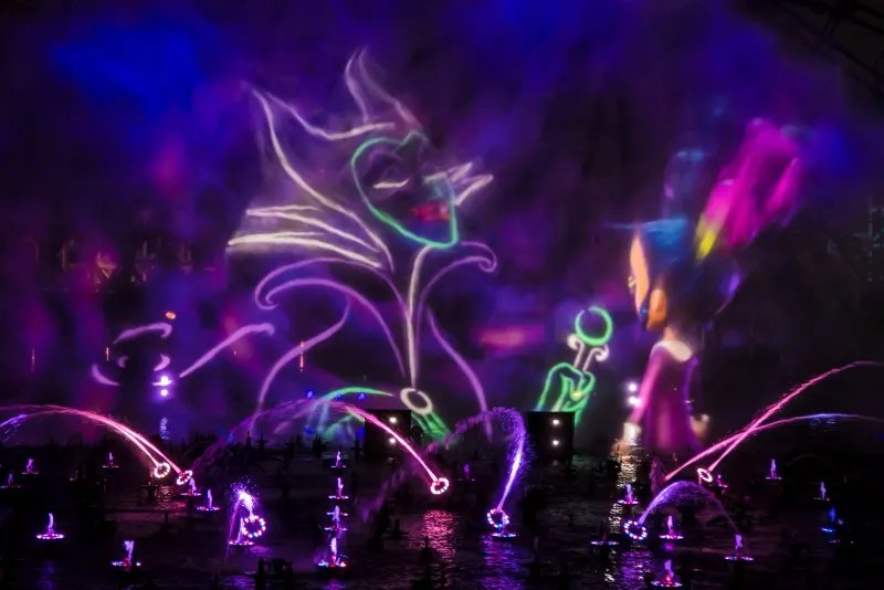 Disneyland Oogie Boogie Bash - World of Color Villainous
