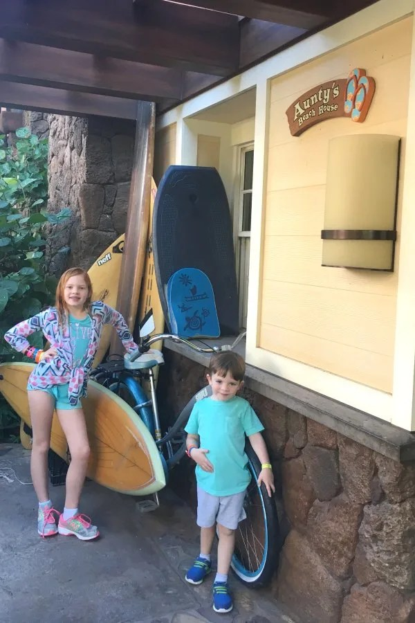 Disney Cruise Line vs. Disney Aulani - Aunty's Beach House