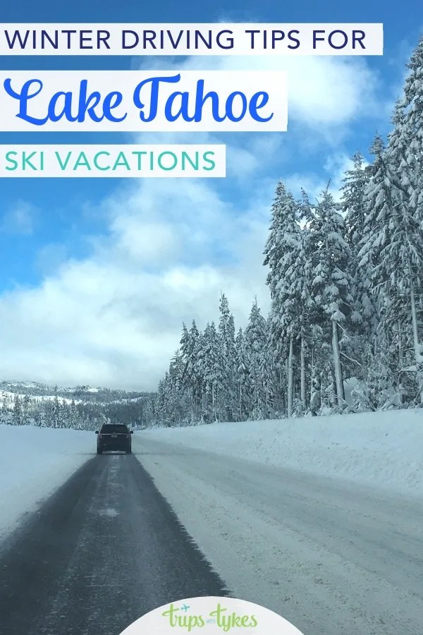 Road tripping to Lake Tahoe in California and Nevada in winter for a ski vacation? Important tips for beating the San Francisco Bay Area and Sacramento traffic. Plus winter driving rules and tips and where to get accurate weather information for Interstate 80 and Highway 50. #laketahoe #skitrip #tahoe #wintertravel #skitravel #california #nevada