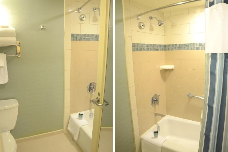 Disneyland Hotel Bathroom