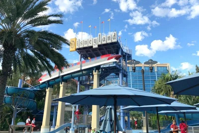Disneyland Hotel - Monorail Pool