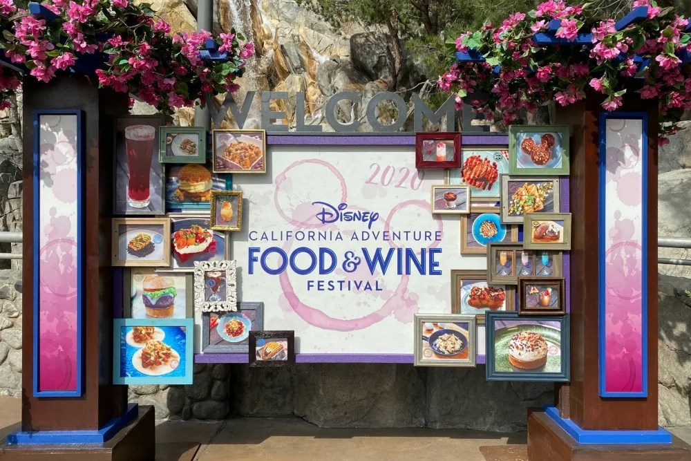 Disney California Adventure Food and Wine Festival 2020