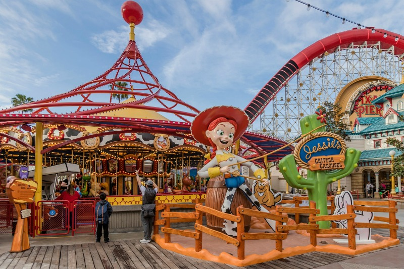 Jessies Critter Carousel Disneyland