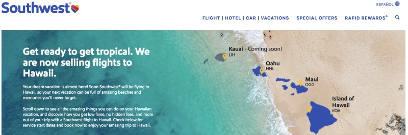 Southwest Hawaii Screenshot