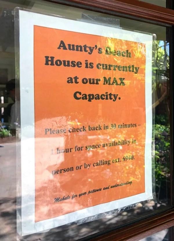 Disney Aulani Auntys Kids Club Capacity