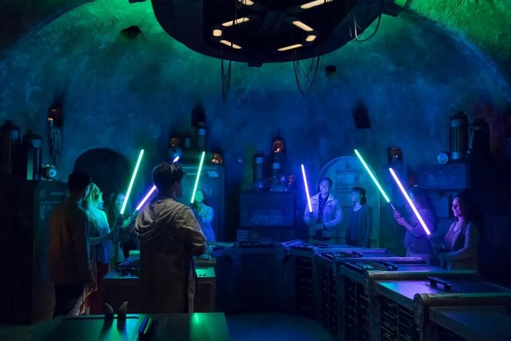 Star Wars Galaxys Edge Fun Facts - Savis Workshop Lightsabers